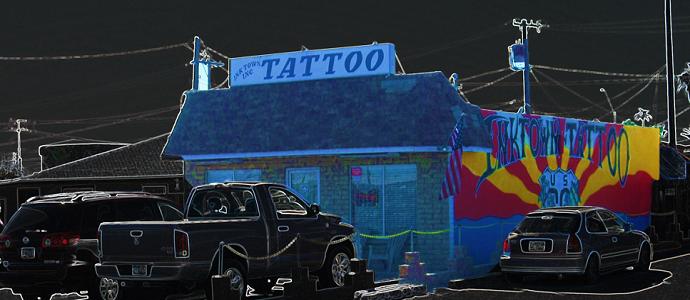 InkTown; Oldest Tattoo Shop in the West Valley